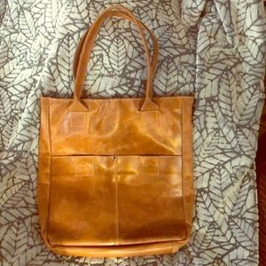 Raven + Lily leather bag